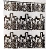 "Carnation Home Fashions PEVA ""Cityscape"" Shower Curtain"