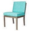 David Francis Furniture Manhattan Dining Side Chair with Cushions