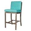 "David Francis Furniture Manhattan 27"" Bar Stool with Cushion"
