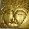 PapaTheo Poster Buddha's Face Embossed Art & Relief, Fotodruck
