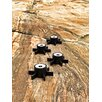 SMD Design Outdoor Candle Holder in Black (Set of 2)