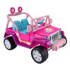Fisher-Price Barbie™ Wrangler Jammin' 12V Battery Powered Jeep