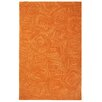 Company C Paint The Town Bittersweet Swirling Orange Area Rug