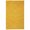 Company C Paint The Town Dijon Swirling Yellow Area Rug
