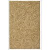 Company C Paint The Town Driftwood Swirling Beige Area Rug