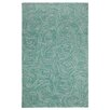 Company C Paint The Town Lake Swirling Blue Area Rug
