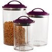 Reston Lloyd 3 Piece Acrylic Canister Set
