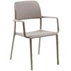 Nardi Bora Stacking Dining Arm Chair (Set of 2)