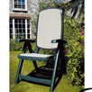 Nardi Delta Folding Dining Arm Chair (Set of 2)