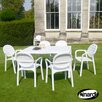 Nardi Alloro 6 Seater Dining Set