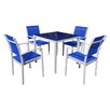 Rondeau Leisure Talia 4 Seater Dining Set