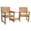 Rondeau Leisure Kent 2 Seater Wooden Love Seat