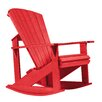 Rondeau Leisure Generations Adirondack Rocking Chair
