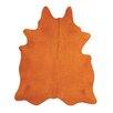 Mina Victory Couture Crocodile Orange Hide Rug
