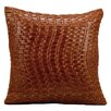 Mina Victory Wavy Basket Weave Throw Pillow