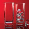 Home Essentials and Beyond Red Series Square Highball Glass (Set of 4)