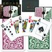 Copag Cards Poker Index Setup in Green / Burgundy