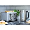 Brabantia 4 Slice Toaster and Kettle Breakfast Set with Digital Temperature Control