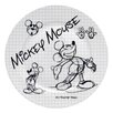 "R Squared Disney Sketchbook 8.25"" Mickey Salad Plate (Set of 4)"