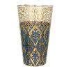 R Squared Patina Vie Sapphire Envy 16 Oz. Tall Glass (Set of 8)