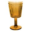 R Squared Opulence Pressed Goblet Glass (Set of 8)