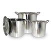 Cook Pro 6 Piece Stock Pot Set