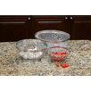 Cook Pro 3 Piece Stainless Steel Mesh Colander Set