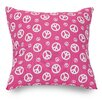 Majestic Home Goods Peace Throw Pillow