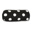 Majestic Home Goods Polka Dot Cotton Bolster Pillow