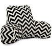 Majestic Home Goods Chevron Indoor/Outdoor Bed Rest Pillow