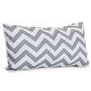 Majestic Home Goods Chervon Indoor/Outdoor Lumbar Pillow