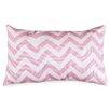 Majestic Home Goods Chervon Lumbar Pillow