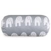 Majestic Home Goods Ellie Round Cotton Bolster Pillow