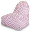 Majestic Home Goods Chevron Bean Bag Lounger