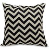 Majestic Home Goods Chervon Indoor/Outdoor Throw Pillow