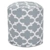 Majestic Home Goods Trellis Small Pouf Ottoman