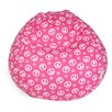 Majestic Home Goods Peace Bean Bag Chair