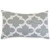 Majestic Home Goods Trellis Cotton Lumbar Pillow