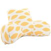 Majestic Home Goods Alli Cotton Bed Rest Pillow