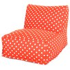Majestic Home Goods Ikat Dot Bean Bag Lounger