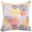 Majestic Home Goods Blooms Indoor/Outdoor Throw Pillow
