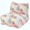 Majestic Home Goods Blooms Bean Bag Lounger