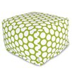 Majestic Home Goods Polka Dot Large Ottoman