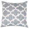 Majestic Home Goods Trellis Throw Pillow