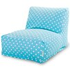 Majestic Home Goods Polka Dot Bean Bag Lounger