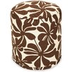 Majestic Home Goods Plantation Small Pouf