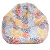 Majestic Home Goods Blooms Bean Bag Chair
