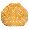 Majestic Home Goods Ikat Dot Bean Bag Chair