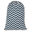 Majestic Home Goods Chevron Laundry Bag