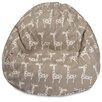 Majestic Home Goods Stretch Classic Bean Bag Chair